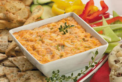 The Official Bacon Salt Blog: Baconnaise Recipe: Shrimp and Crab Dip