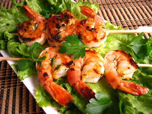 Garlic Baconnaise Shrimp