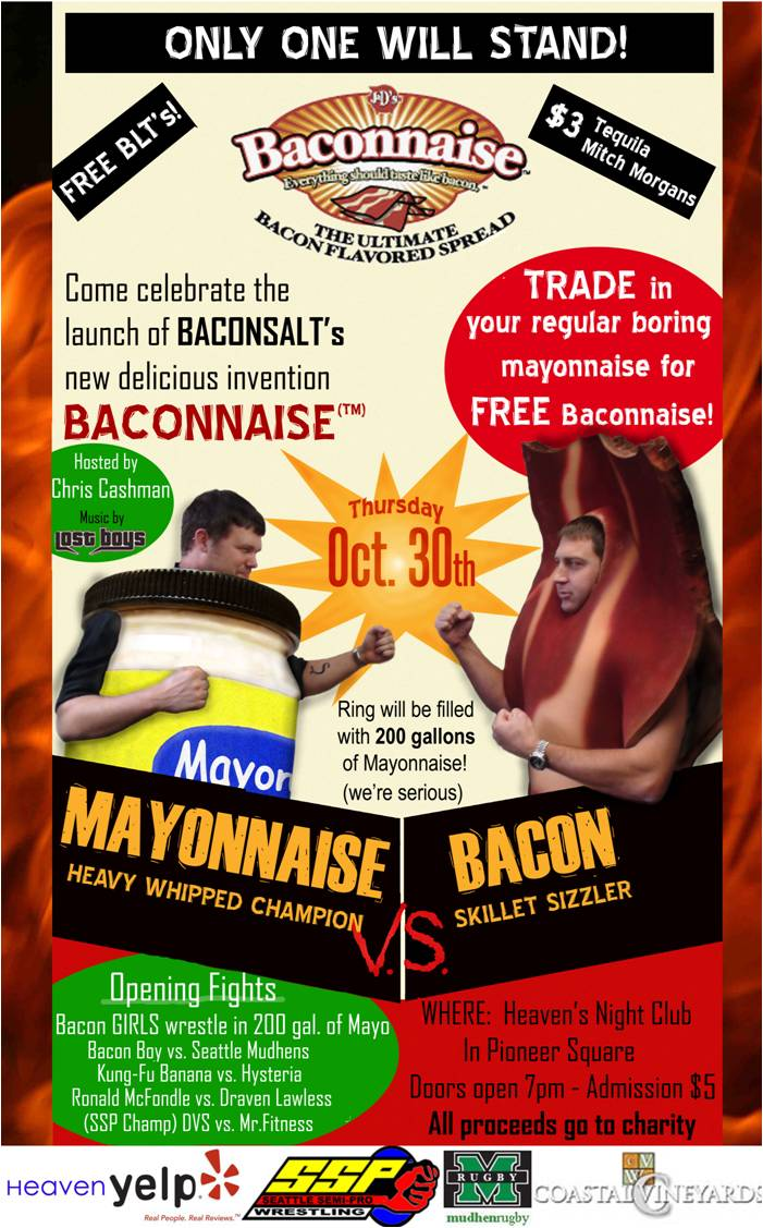 Baconnaise launch