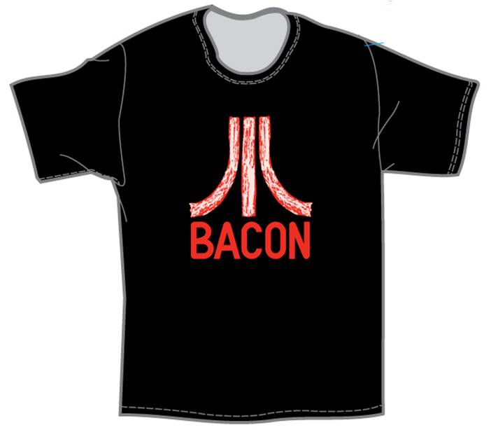 Bacon Classic Gamer T-shirt